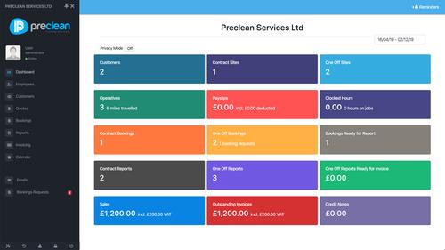 Preclean Services